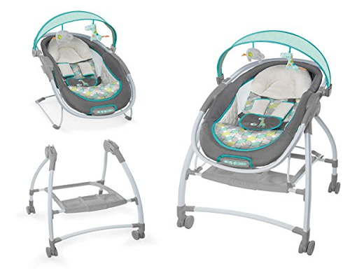 Ingenuity InReach Mobile Lounger and Bouncer 500x400